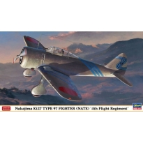 "Nakajima Ki27 Type 97 Fighter (Nate) ""4th Flight Regiment"" - Limited Edition (1:48)"