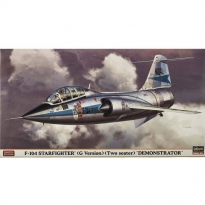 F-104 Starfighter (G Version) Two Seater Demonstrator - Limited Edition (1:48)