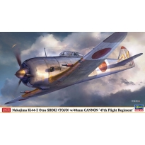 "Nakajima Ki44-II Otsu SHOKI (TOJO) w/40mm CANNON ""47th Flight Regiment"" - Limited Edition (1:48)"
