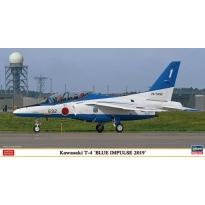 """Kawasaki T-4 """"Blue Impulse 2019"""" (1:48)"""