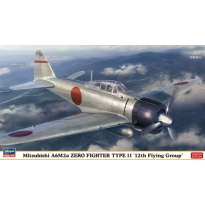 """Mitsubishi A6M2a Zero Fighter Type 11 """"12th Flying Group"""" - Limited Edition (1:48)"""