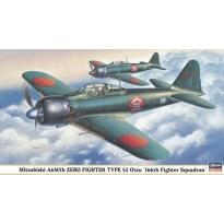 """Mitsubishi A6M5b Zero Fighter Type 52 Otsu """"166th Fighter Squadron"""" (1:48)"""
