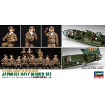 Japanese Navy Airmen Set (X72-16) (1:72)