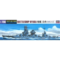 IJN Battleship Hyuga (1:700)
