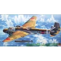 Mitsubishi G3M2/G3M3 Type 96 Attack Bomber (Nell) Model 22/23 w/Torpedo (1:72)