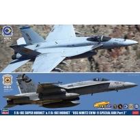 "F/A-18E Super Hornet & F/A-18C Hornet ""USS Nimitz CVW-11 Special Pack Part 2"" - Limited Edition  (1:72)"