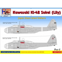 Kawasaki Ki-48 Japan Home Island Defence, Pt.3 (1:72)