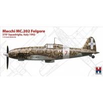 "Hobby 2000 72008 Macchi MC.202 Folgore ""370 Squadriglia,Italy 1942"" - Limited Edition (1:72)"