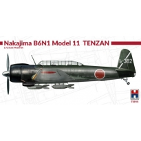 Hobby 2000 72015 Nakajima B6N1 Model 11 Tenzan - Limited Edition (1:72)