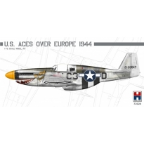 Hobby 2000 72024 P-51B Mustang U.S. Aces over Europe 1944 - Limited Edition (1:72)