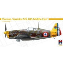 Hobby 2000 72032 Morane-Saulnier MS.406 Middle East - Limited Edition (1:72)