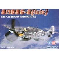 Bf109G-6(late) Easy Assembly (1:72)