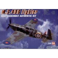 M.S.406 Fighter Easy Assembly (1:72)