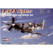 D.520 Fighter Easy Assembly (1:72)