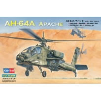 AH-64A Apache Attack Helicopter (1:72)