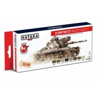 US Army paint set (MASSTER & DUALTEX) (8 x 17 ml.)