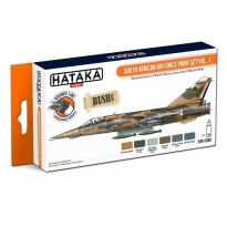 ORANGE LINE – South African Air Force paint set vol. 1 (6 x 17 ml.)