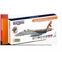 ORANGE LINE – Israeli Air Force paint set (modern jets) (8 x 17 ml.)