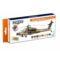 ORANGE LINE – Israeli Air Force paint set (modern rotors) (8 x 17 ml.)