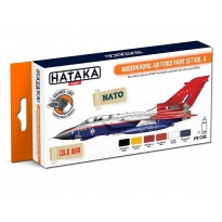 ORANGE LINE – Modern Royal Air Force paint set vol. 4 (6 x 17 ml.)