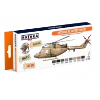 ORANGE LINE - British AAC Helicopters paint set (8 x 17 ml.)