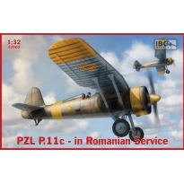 IBG 32002 PZL.P.11c - in Romanian Service (1:32)