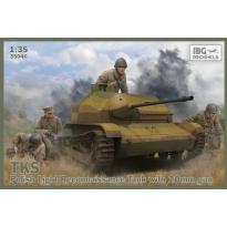 TKS Tankietka z NKM wz. 38 FK-A 20 mm (dodatkowo zawiera metalową lufę i 2 figurki ) (1:35)