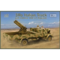 3Ro Italian Truck with 100/17 100mm Howitzer (1:35)