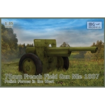 IBG 35057 75mm French Field Gun Mle 1897 – Polish Forces in the West (1:35)