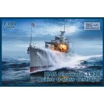 "IBG 70008 HMS ""Glowworm"" (1938) G-Class Destroyer (1:700)"