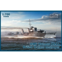 "IBG 70009 HMS ""Glowworm"" (1938) G-Class Destroyer (1:700)"