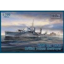 IBG 70011 HMS Ilex 1942 British I-class destroyer (1:700)