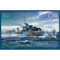 HMS Ithuriel 1942 I-class Destroyer (1:700)