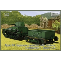 Type 94 Japanese tankette with trailers (1:72)