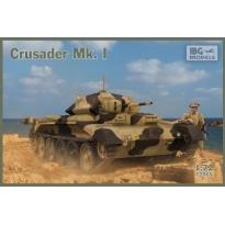 Crusader Mk. I - British Cruiser Tank Mk. VI (1:72)