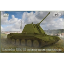 IBG 72089 Crusader Mk.III AA tank Mk.I with 40mm Bofors Gun (1:72)