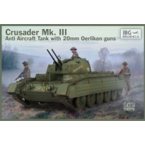 Crusader Anti Air Tank Mk. III with Oerlikon Guns (1:72)