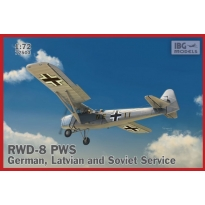 RWD-8 PWS - German, Latvian and Soviet Service (1:72)