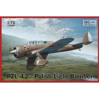 PZL.42 - Polish Light Bomber (NOWE FORMY) (1:72)