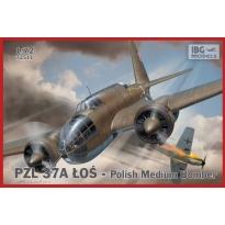 PZL.37A Łoś - Polish Medium Bomber (NOWE FORMY) (1:72)