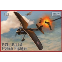 PZL.P.11A - Polish Fighter (1:72)