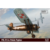 IBG 72519 PZL.P.11C - Polish Fighter (1:72)