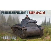 World At War Panzerkampwagen II Ausf. a1/a2/a3 (1:72)