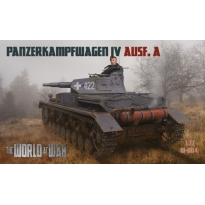 World At War Panzerkampfwagen. IV Ausf. A (1:72)