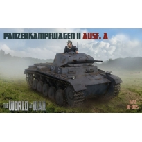 World At War Panzerkampfwagen II Ausf.A (1:72)