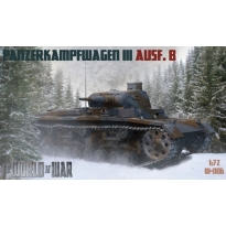 World At War Panzerkampfwagen III Ausf.B (1:72)