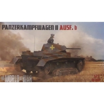 World At War Panzerkampfwagen II Ausf.B (1:72)