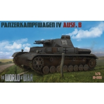 World At War Panzerkampfwagen IV Ausf.B (1:76)