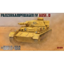 World At War Panzerkampfwagen IV Ausf.D (1:76)