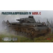World At War Panzerkampfwagen IV Ausf.C (1:76)